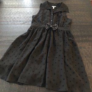 Disney D-Signed Black Polka Dot Dress